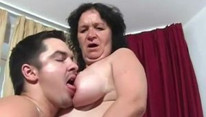 Real Granny Porn - Young granny ass fucking