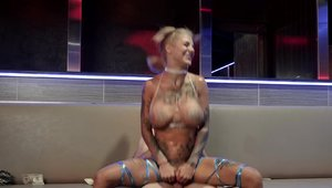 Reality Kings: Tattooed and skinny Bonnie Rotten dick sucking