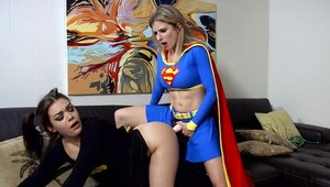 Superhero Cory Chase really likes the best sex