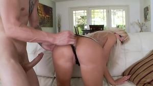 Nailed rough together with Nina Elle and Chris Strokes