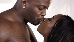 Gorgeous ebony amateur Chanell Heart wishes the best sex