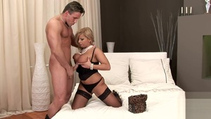 Sloppy fucking together with big tits mature Lucy Love