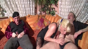 Big butt & super hot Charlee Chase threesome